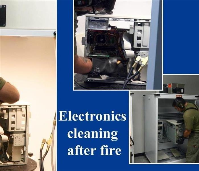 SERVPRO of Auburn/Enumclaw Fire Damage Electronic Cleaning