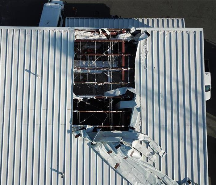 Commercial Storm Damage in Auburn, WA